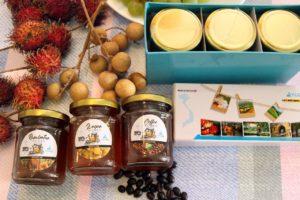 165g3種類の蜂蜜