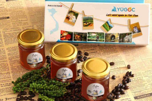 165g3種類のコーヒー蜂蜜