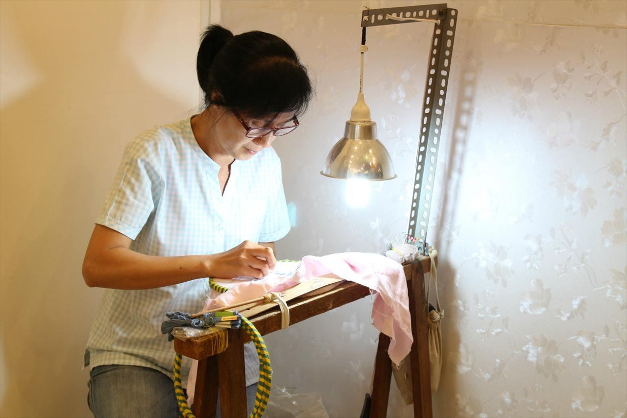 ベトナム刺繍のイメージ