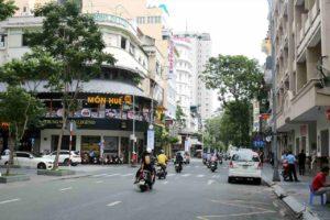 ドンコイ通りの写真