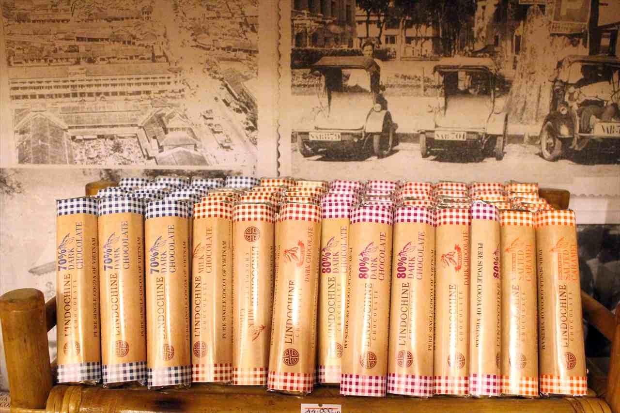 ベトナム土産のブランド写真