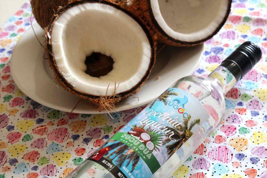 ココナッツ酒の写真