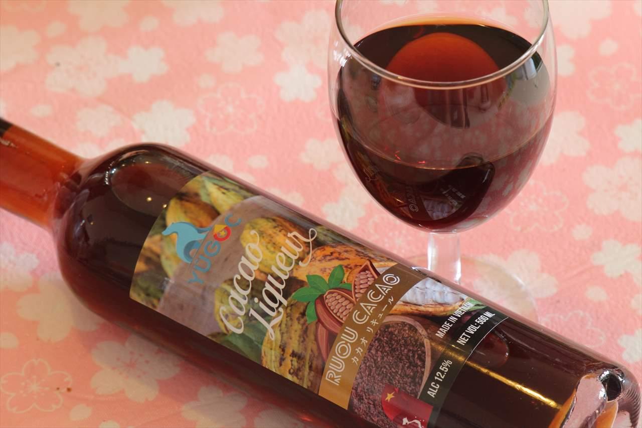 カカオ酒。珍しい貴重なお酒