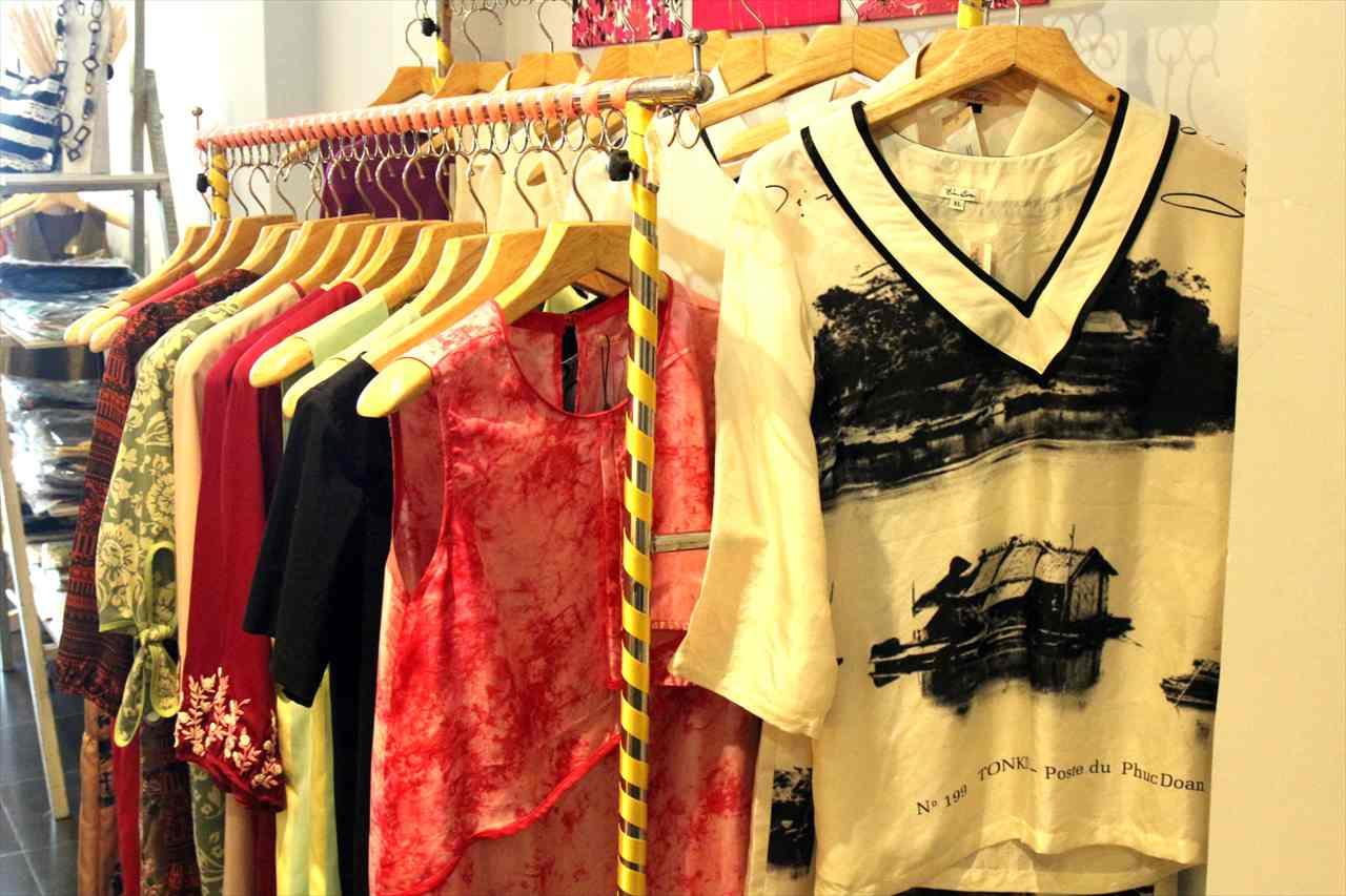 ホーチミンの雑貨店「ハウスオブサイゴン」のフロア写真