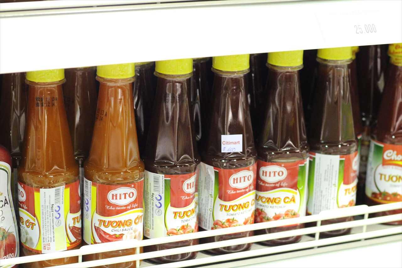 ベトナムの調味料「チリソース」の写真
