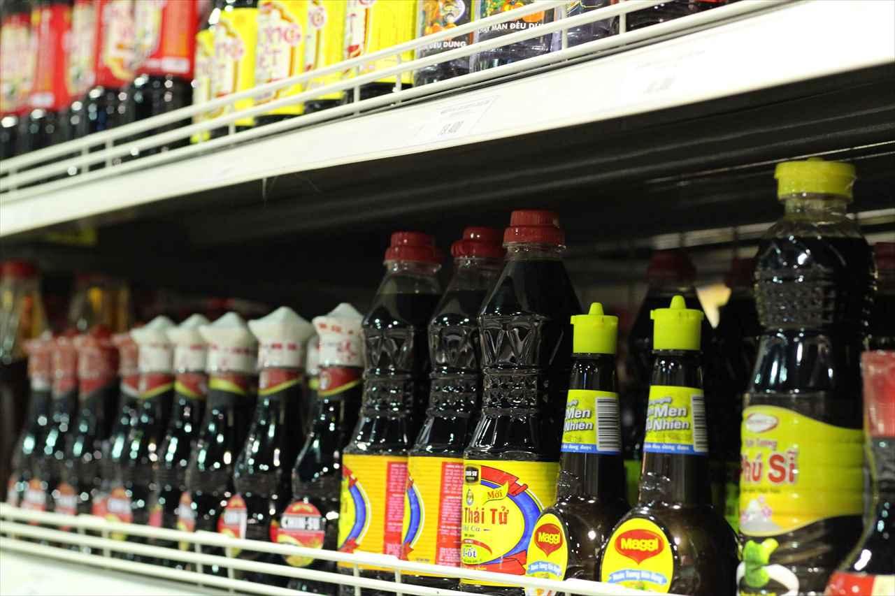 ホーチミンのスーパーで買える調味料