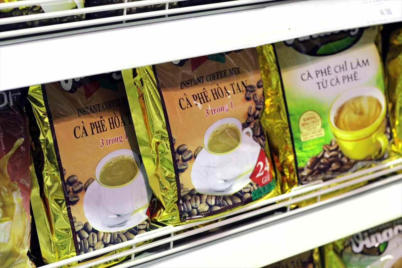 ベトナムのインスタントコーヒーの写真