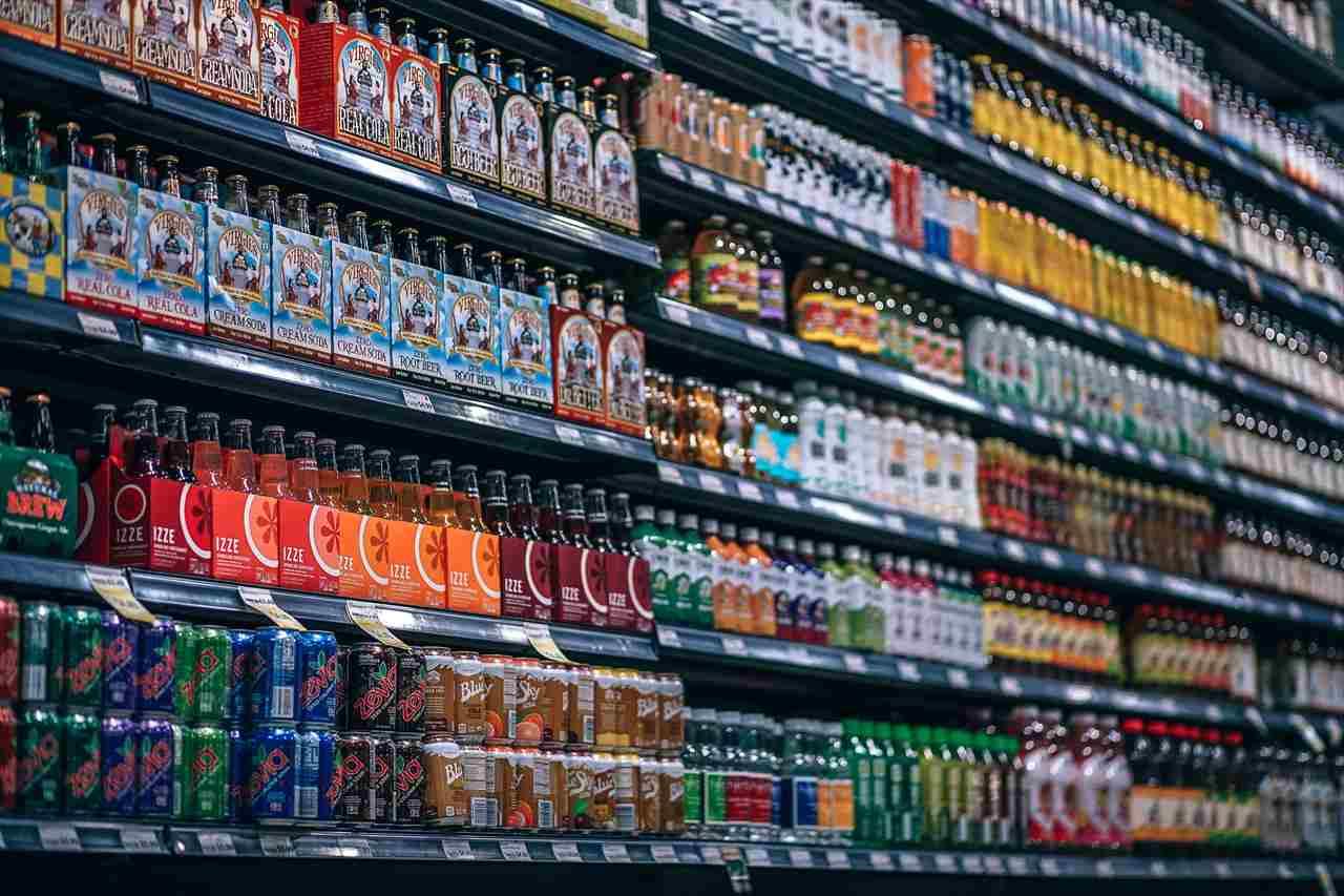 スーパーマーケットでお酒を買おう