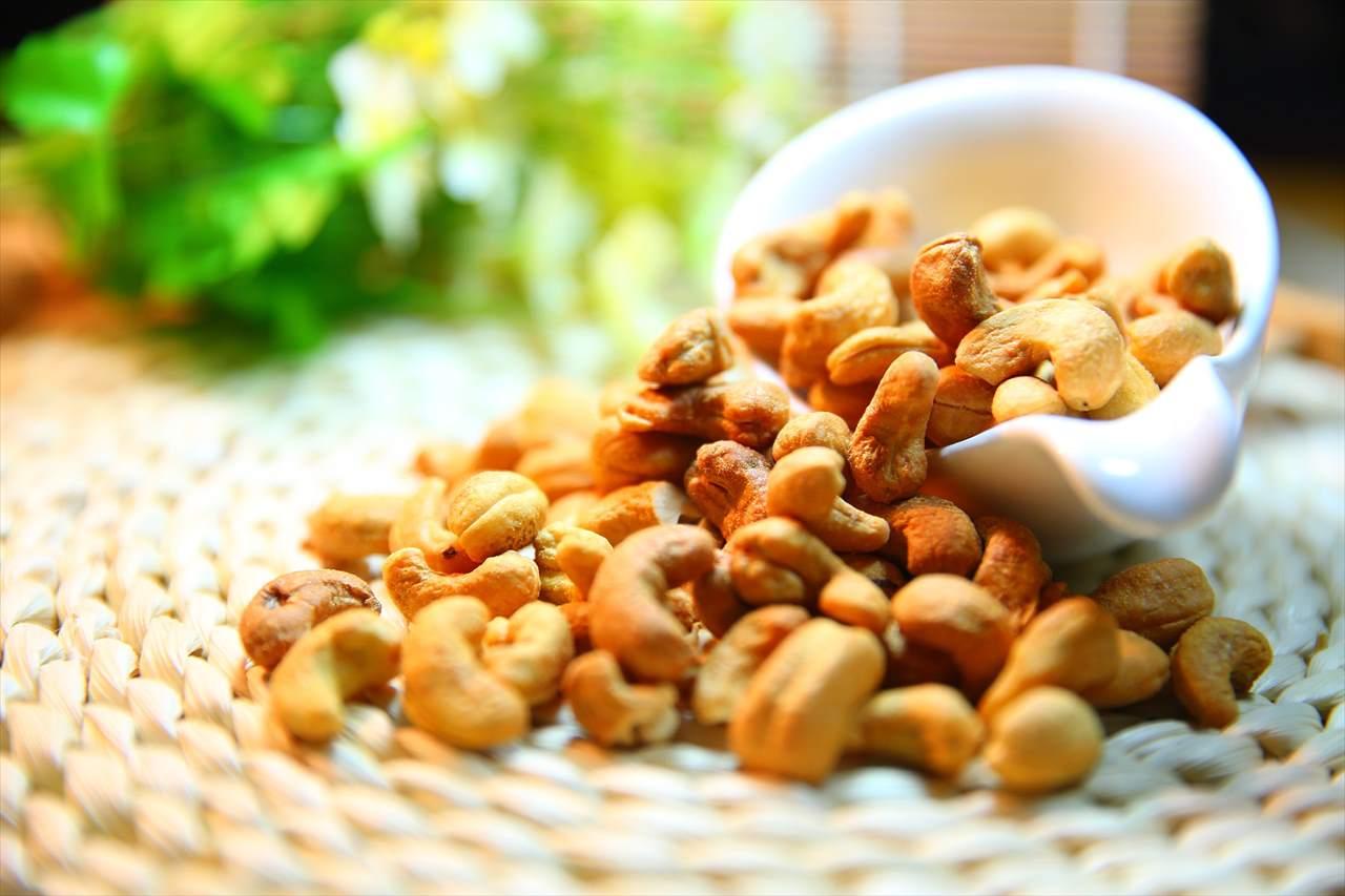 ホーチミン土産のナッツの写真