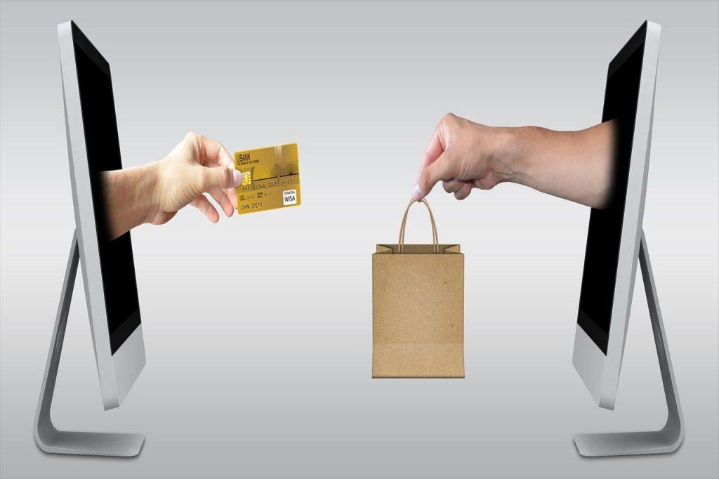 ネットショッピングのイメージ写真