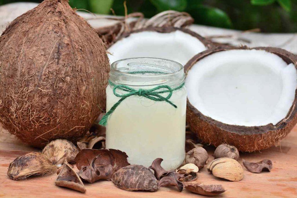 ココナッツオイルの写真