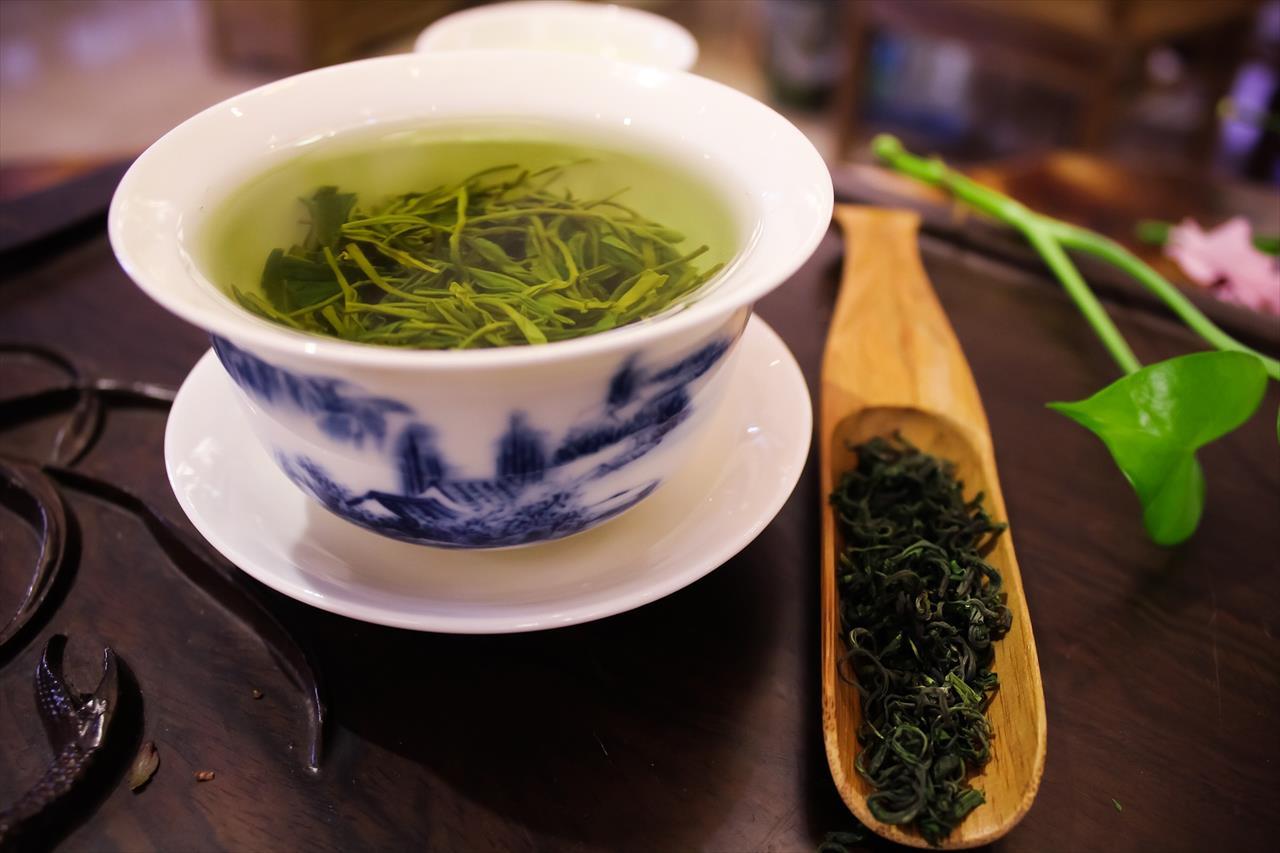 ベトナム産緑茶