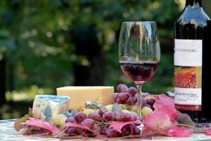 ブドウワインの写真
