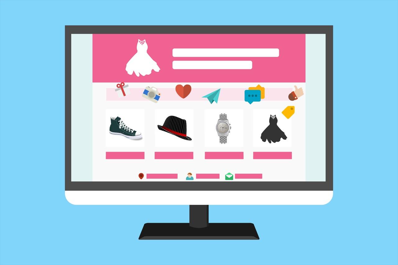 通販サイトのイメージ画面