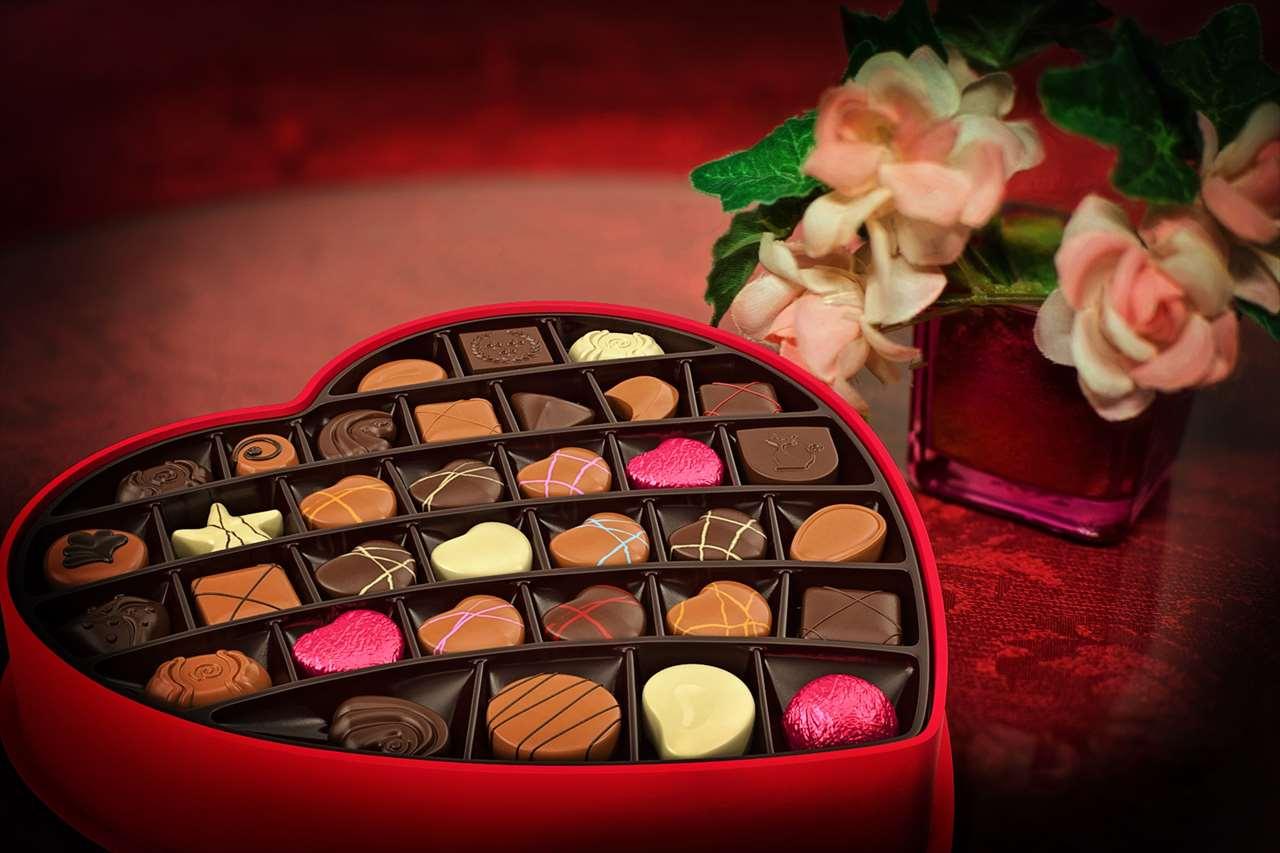 ホーチミン土産のチョコレートの写真