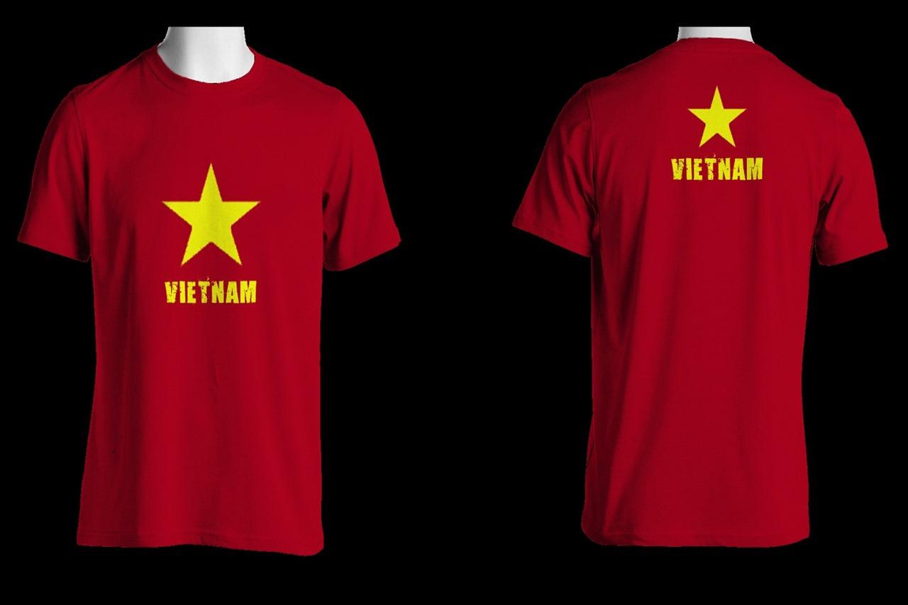 ベトナム国旗Tシャツの写真