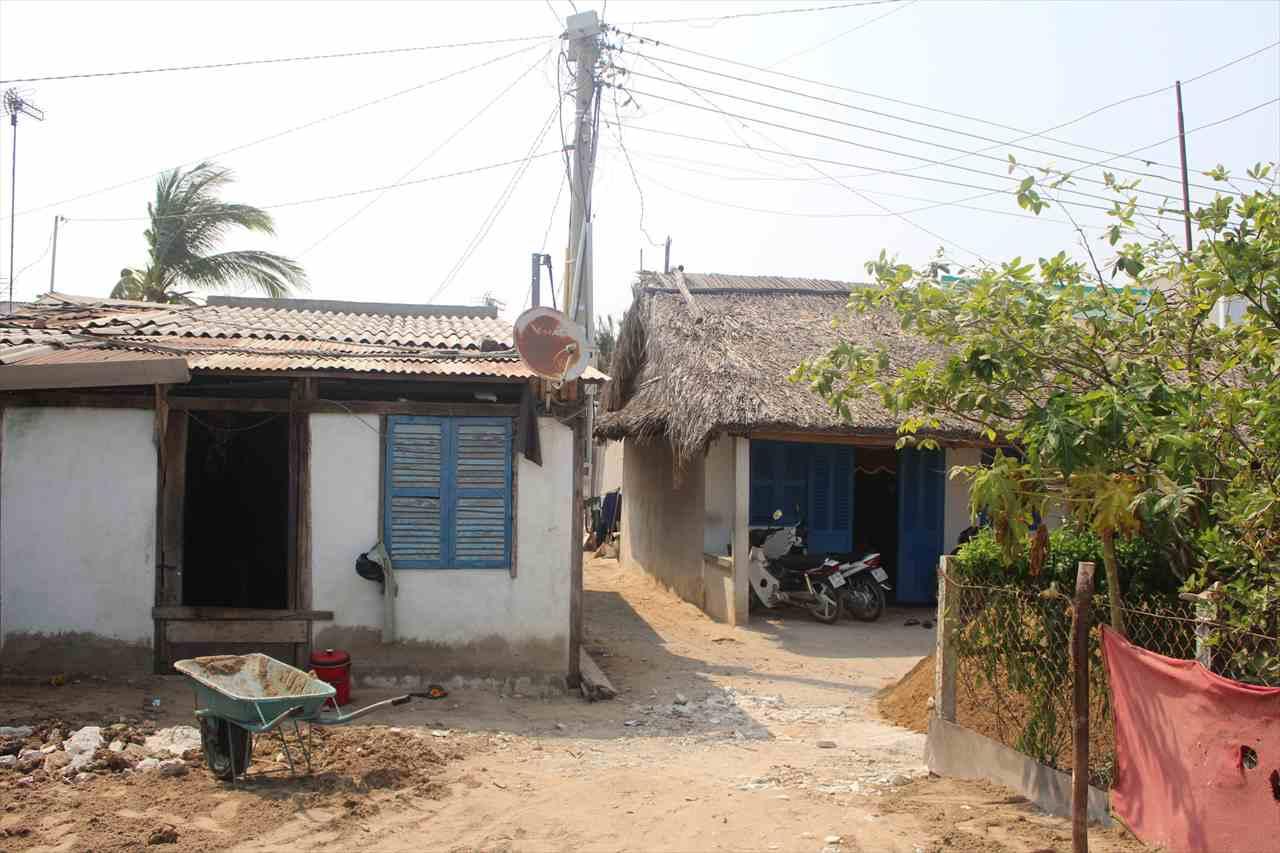 ドンナイ省の家々