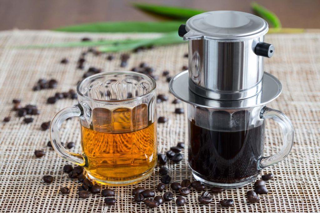 ベトナムコーヒーとフィルター