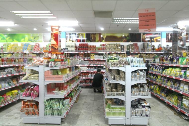 ベトナムのスーパーの様子