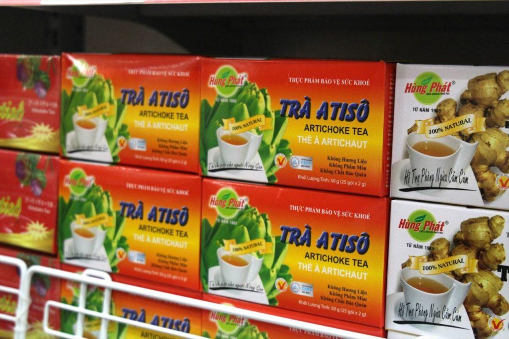 目上の人へのばらまきお土産におすすめ!「ベトナム茶」