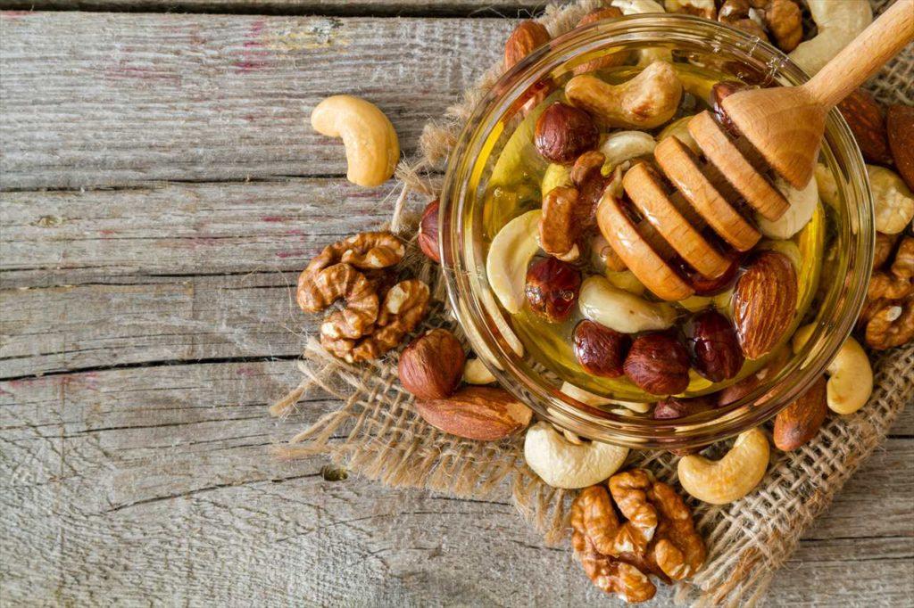 最近は蜂蜜味のカシューナッツが人気