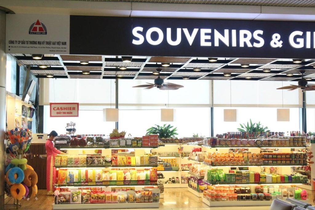ハノイのノイバイ空港にあるお店の営業時間は?