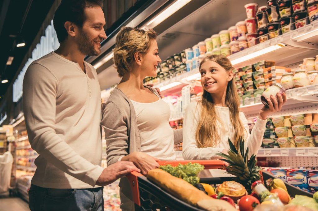 現地人向けのスーパーマーケット(ショッピングセンター)しかない