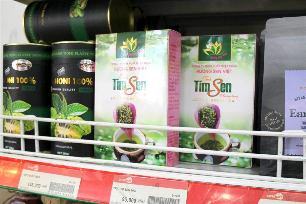 ベトナムの国花ハスのお茶「ロータスティー」