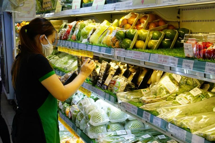 野菜や果物は有機食品など品質を売りにしている