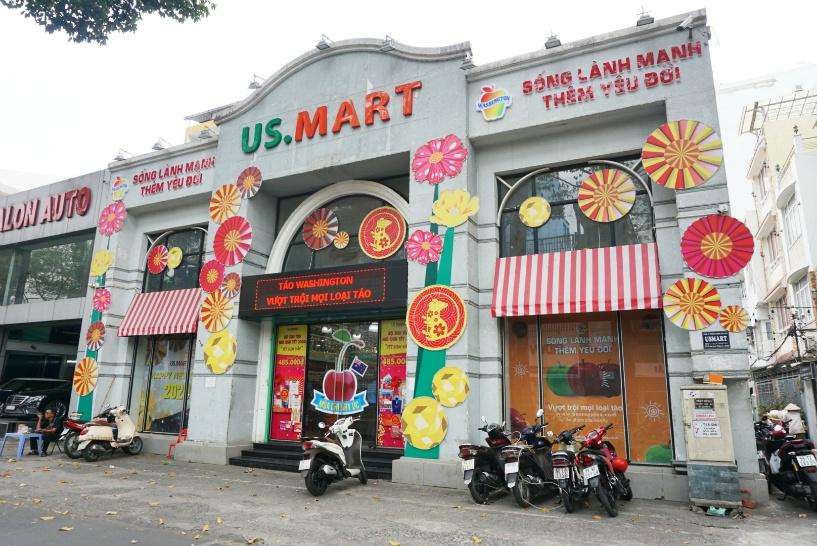 1区と7区に店舗を置く人気のスーパーマーケット