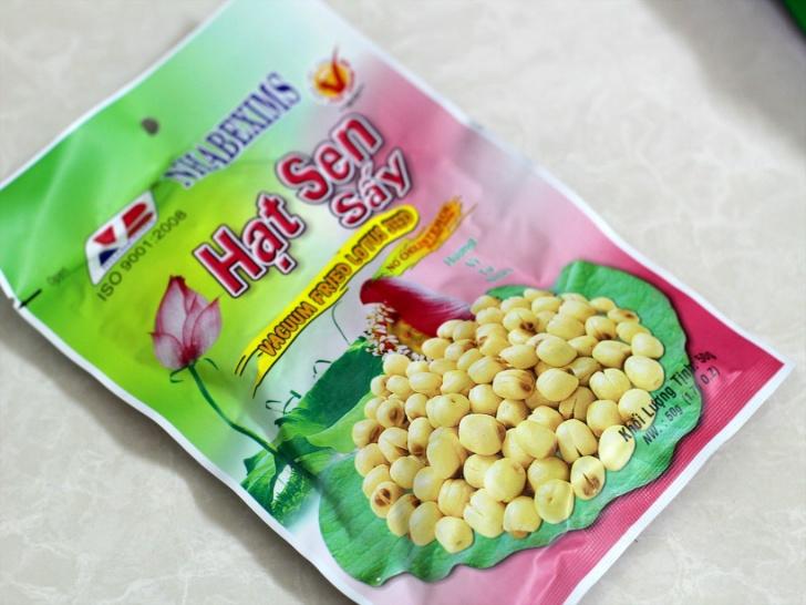 4.ハスの実も定番お菓子の1つ。ベトナム土産には欠かせない